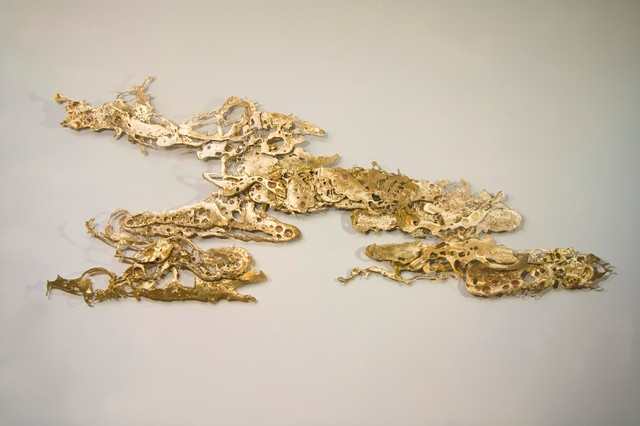 Clouds of Bronze Wall Sculpture eclectic-home-decor