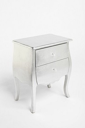 Silver Leaf Side Table eclectic side tables and accent tables