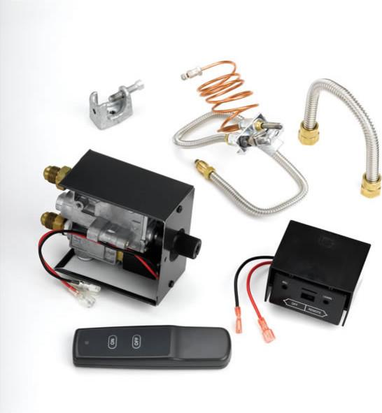 Millivolt Safety Pilot Kit with Remote modern-fireplace-accessories