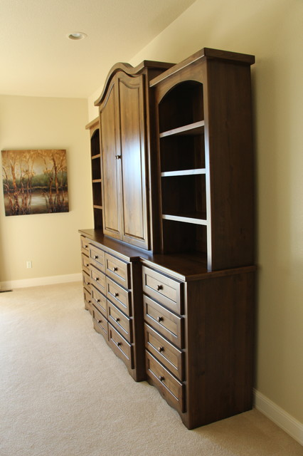 Custom Bedroom Armoire - Traditional - Armoires And ...