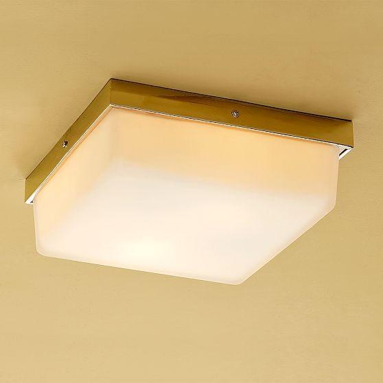 Flat Stock Flush Mount Light modern-bathroom-vanity-lighting