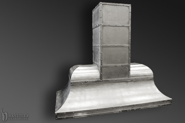 Zinc Range Hoods | Bastille Metal Works - Range Hoods And Vents - other metro - by La Bastille