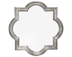 Quatrefoil Mirror mediterranean-mirrors