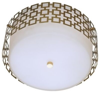 Parker Flushmount by Jonathan Adler bathroom-lighting-and-vanity-lighting