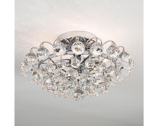 Glamorous Crystal Ceiling Light -