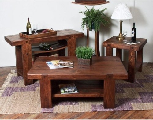 Russian River Coffee Table Set contemporary-coffee-tables