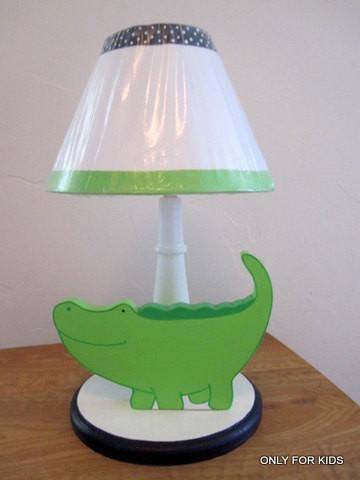 Alligator Table Lamp