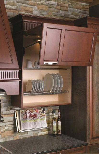 Kitchen Wall Cabinet Plate Holder Organizer Modern Kitchen Cabinetry Baltimore By