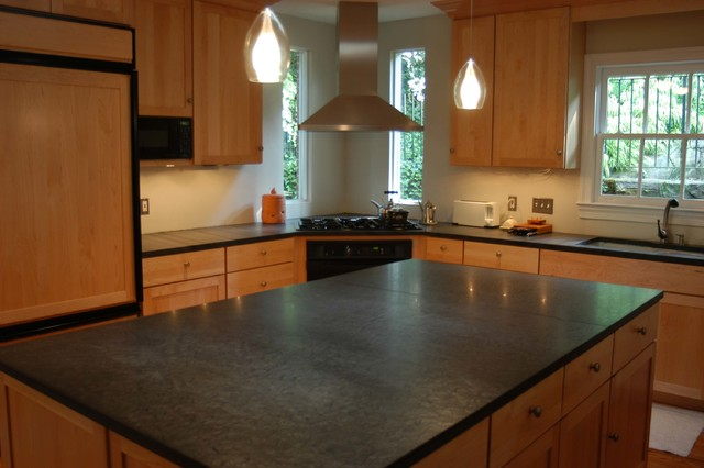 Slate Countertops  Kitchen Countertops  other metro  by Vermont