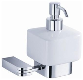 Fresca Solido Wall Mounted Ceramic Soap Dispenser contemporary-bathroom-accessories