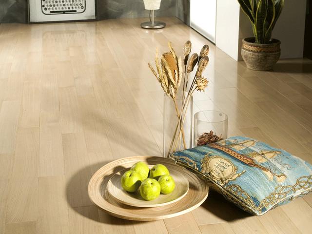 Quarter Sawn Oak Vanilla contemporary-wood-flooring