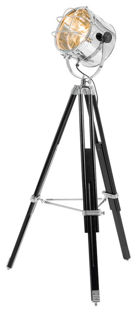 Tripod spotlight giant floor lamp modern floor lamps by dwell - Tripod spotlight lamp ...