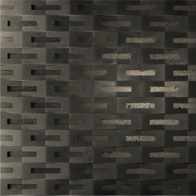 Carved Stone modern-tile