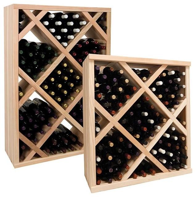 Vintner Series Wine Rack Diamond Bin Wine Rack With Face