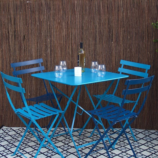 Bistro Metal Chairs contemporary-outdoor-lounge-chairs
