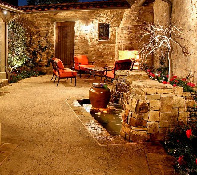 AMS Landscape Design Studios, Inc. mediterranean-patio
