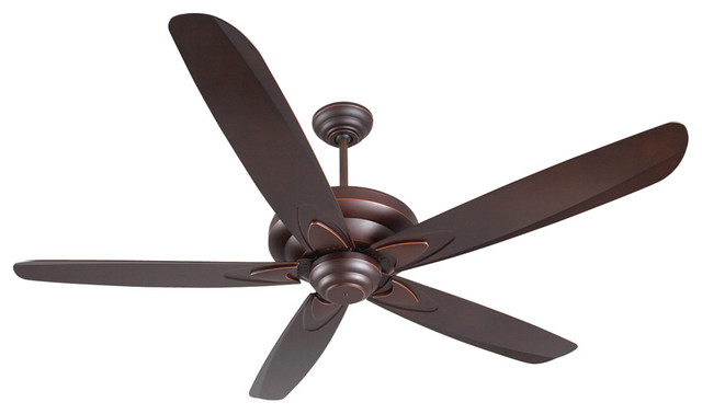"Craftmade ZE56OBG5 56"" Ceiling Fan with Blades transitional-ceiling-fans"