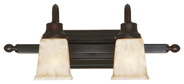 Belle Foret Model Bathgate Bath Collection - BF70472 2 Light Sconce  bathroom lighting and vanity lighting