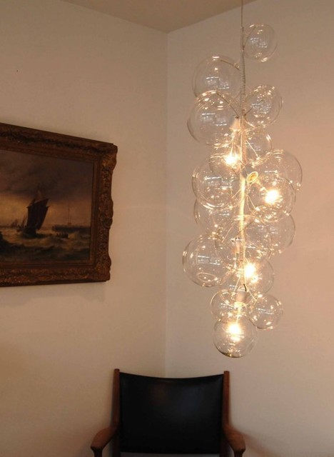 Bubble Chandelier Tall Size by Jean & Oliver Pelle contemporary chandeliers