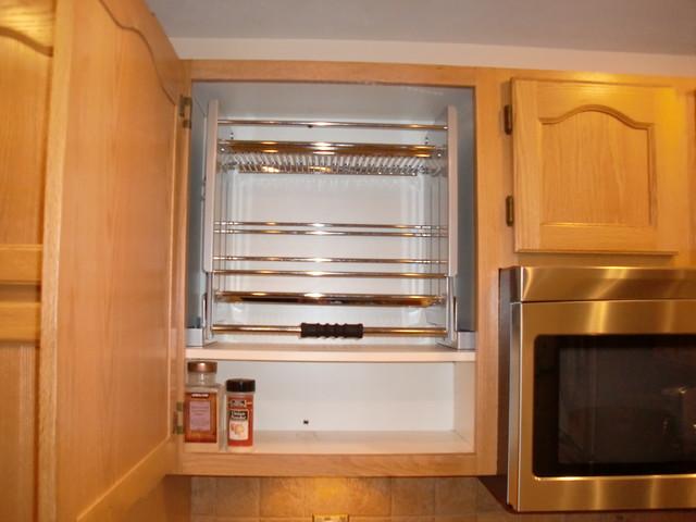 Pull Down Shelves - Kitchen Drawer Organizers - boston - by ShelfGenie of Massachusetts