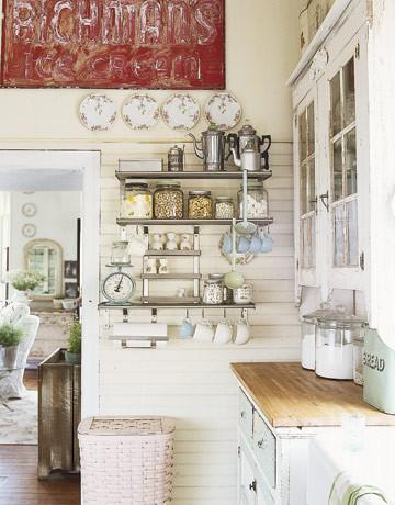 Michelle Joy's Victorian Kitchen traditional