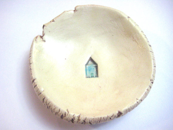 Tiny House Itty Bitty Dish By The Brick Kiln contemporary accessories and decor