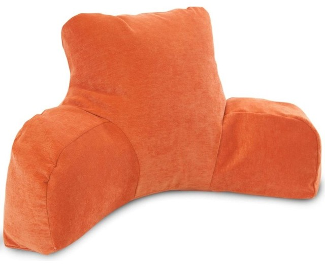Decorative Reading Pillow : Villa Orange Reading Pillow - Traditional - Decorative Pillows - by Majestic Home Goods