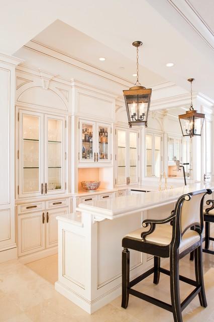 Laguna Beach Meets Versailles traditional-kitchen
