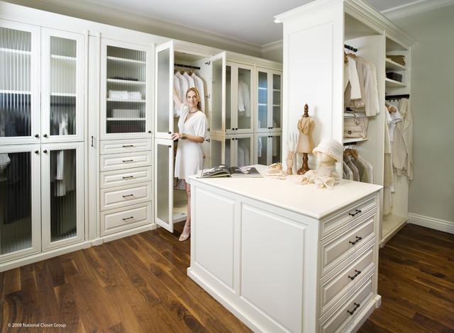 Valet Custom Cabinets & Closets - Siena Collection Closet traditional-closet
