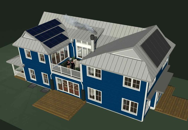 3D overview contemporary