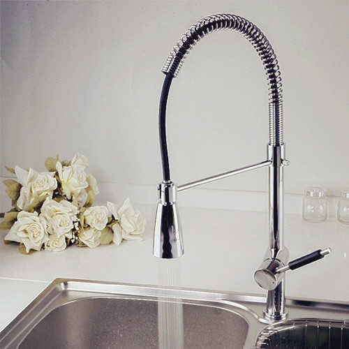 led color change contemporary kitchen faucet modern