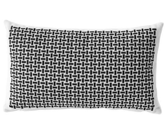 Charlene Mullen - basketweave pillow -