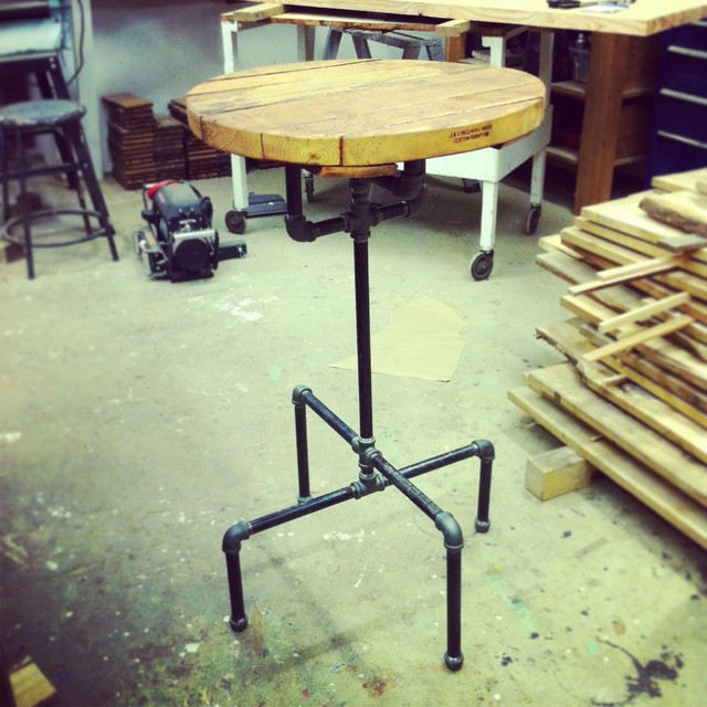 Gallery of projects we have made - rustic - bar tables - vancouver