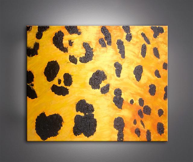 LEOPARD PATTERN modern-artwork