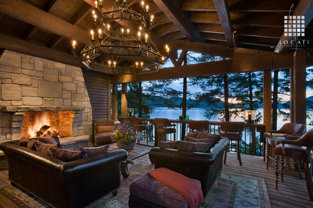 Carver Bay Residence traditional-porch