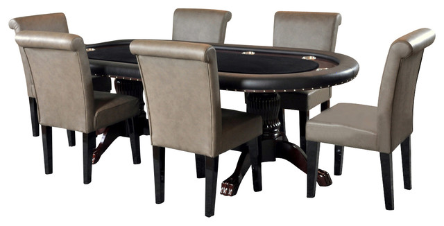 Home poker table and chairs set / Online Casino Portal