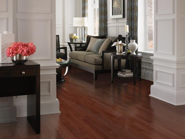 Red Oak - Cherry Stain - Hardwood Flooring - Hardwood Flooring - other ...
