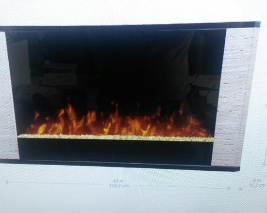 Dimplex Srata Electric Linear Fireplace -