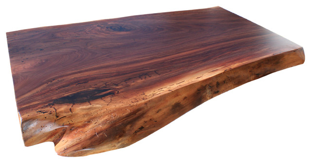 Live Edge Kitchen Counter By Grothouse Kitchen