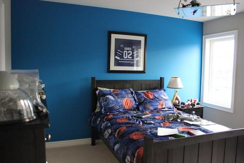 Boy Room Focal Wall
