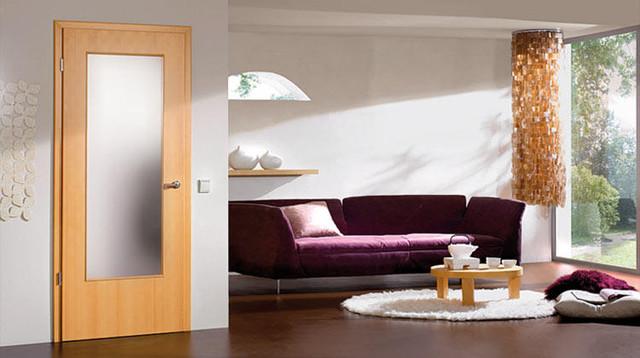 "Modern Interior Doors - European Edge ""Rabetted Edge"" modern-interior-doors"