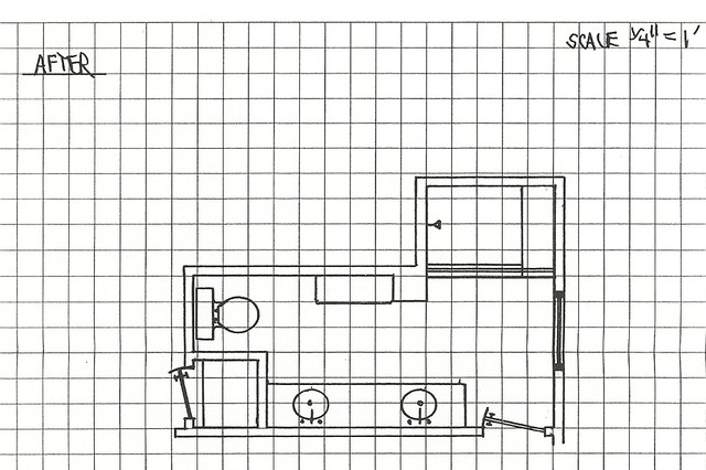 NLT Construction- Floor plan Drawings- After contemporary