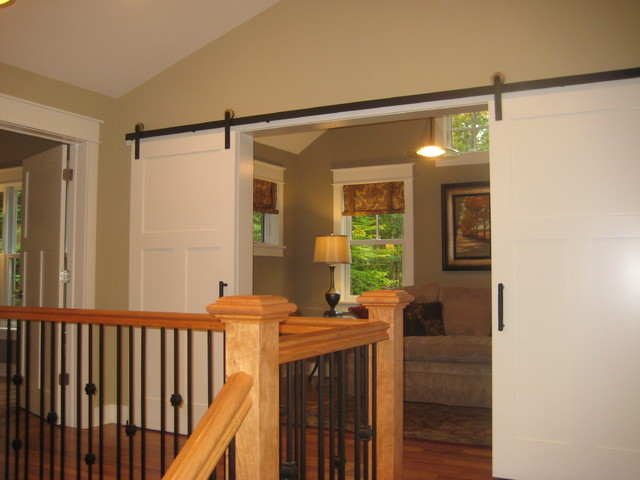Moss Creek Barn Doors contemporary-interior-doors