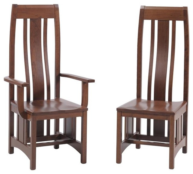 Mission Dining Room Chair - traditional - chairs - tampa - by ...