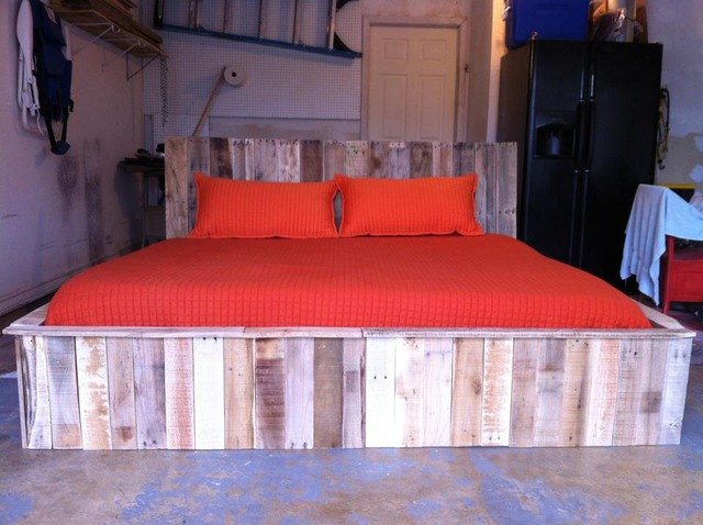 pallet bed contemporary-furniture