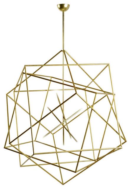 Hubert le Gall Polyedres Chandelier modern-chandeliers