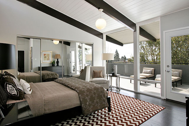 Etcheverry House Mid Century Master Bedroom Expansion Modern Bedroom San Francisco By