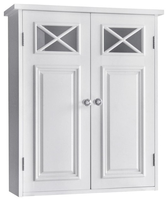 Dawson Wall Cabinet With Two Doors farmhouse-medicine-cabinets