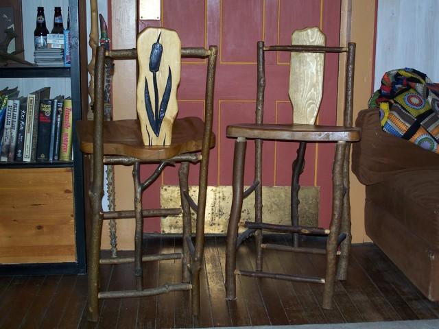 Furniture mix rustic-chairs