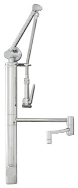 Waterstone Gantry Faucet/Pre-Rinse - Articulated Spout (Hunley, Parche, Fulton) contemporary-kitchen-faucets